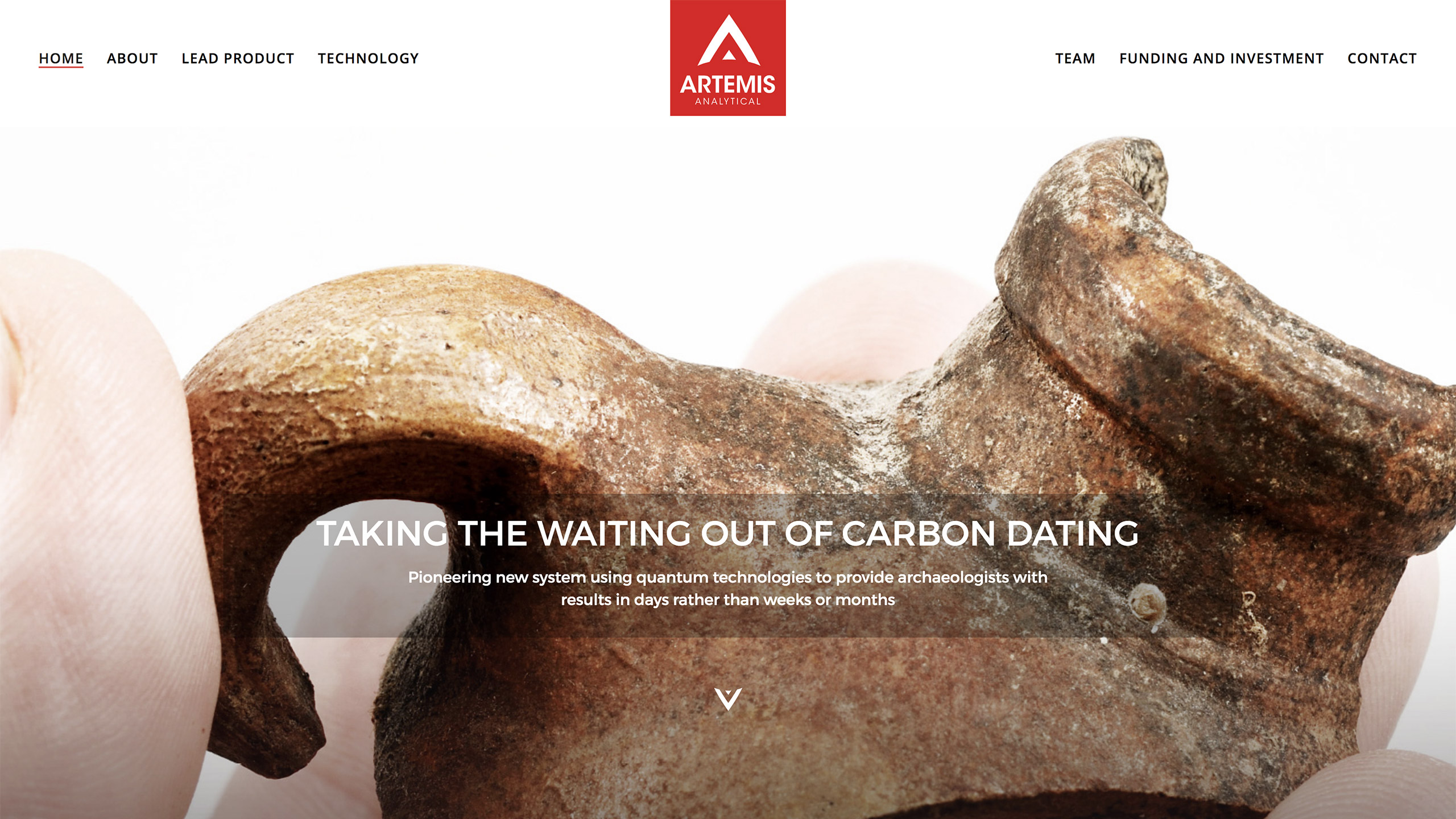 New carbon dating technology